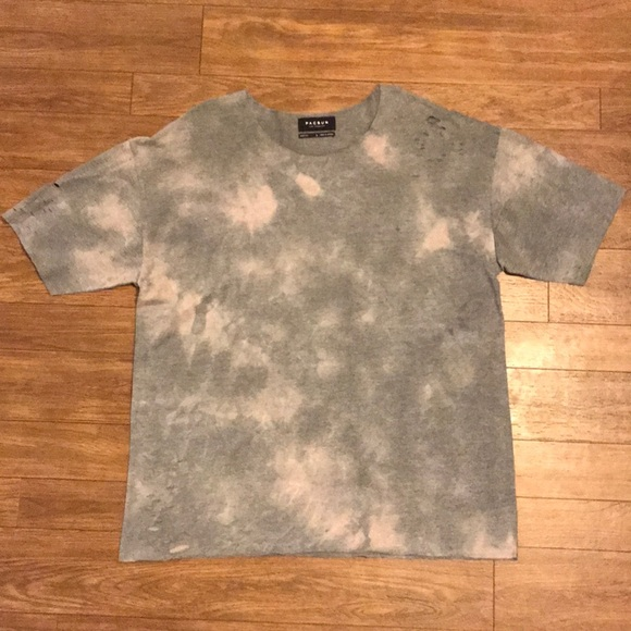 PacSun Other - Pacsun Ripped Tie-Dye T-Shirt